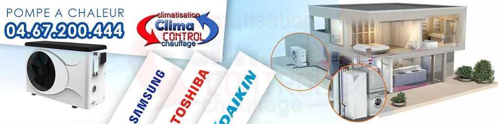 Climacontrol pompe a chaleur montpellier ☎ 04.67.200.444