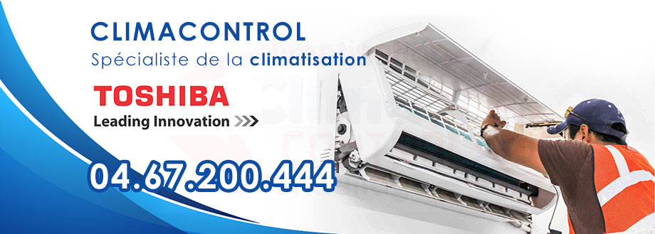 Climacontrol climatisation Toshiba Montpellier ☎ 04.67.200.444